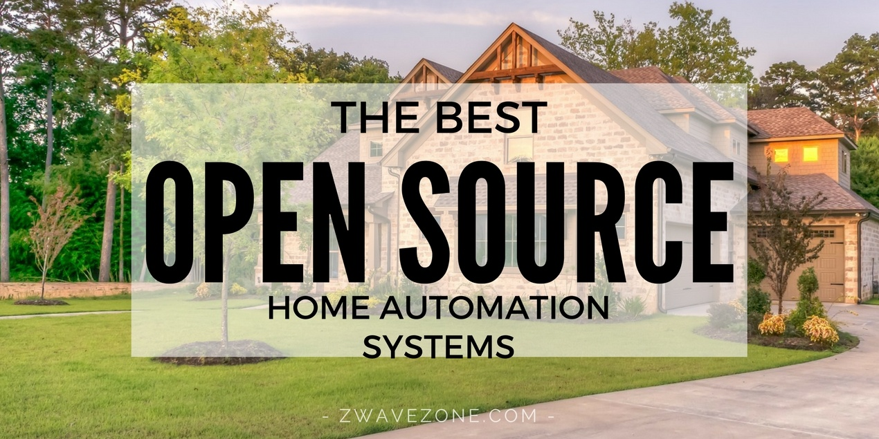 The best open source home automation systems z wave zone for Home automation system